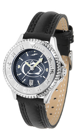 Penn State Nittany Lions Ladies Competitor Watch With AnoChome Dial