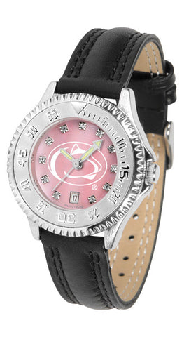 Penn State Nittany Lions Ladies Competitor Watch With Mother Of Pearl Dial