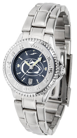 Penn State Nittany Lions Ladies Competitor Steel Watch With AnoChome Dial