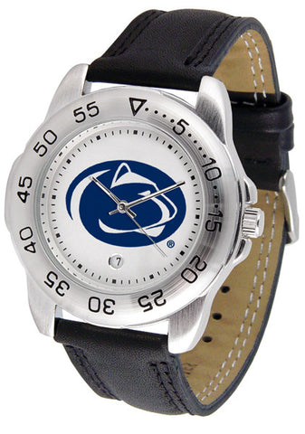 Penn State Nittany Lions Men Sport Watch With Leather Band