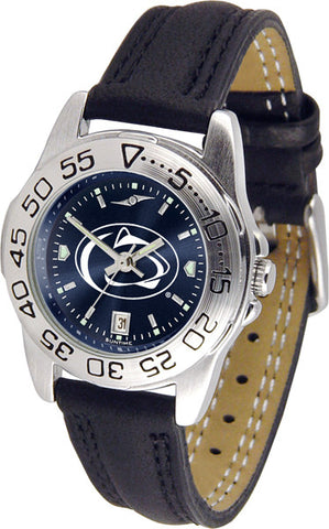Penn State Nittany Lions Ladies Sport Watch With Leather Band & AnoChrome Dial