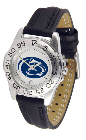 Penn State Nittany Lions Ladies Sport Watch With Leather Band