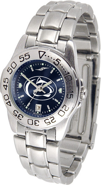 Penn State Nittany Lions Ladies Sport Steel Watch With AnoChrome Dial