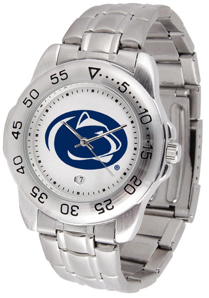 Penn State Nittany Lions Men Sport Steel Watch
