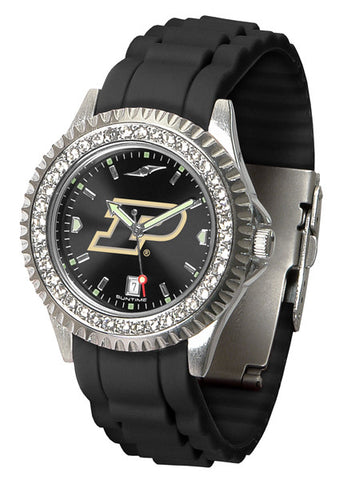 Purdue Boilermakers Sparkle Watch With Color Band