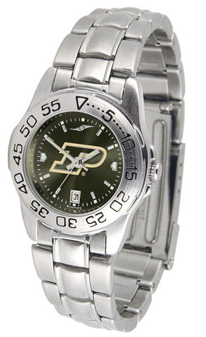 Purdue Boilermakers Ladies Sport Steel Watch With AnoChrome Dial