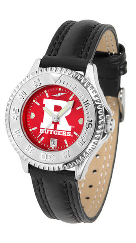 Ladies Rutgers Scarlet Knights - Competitor AnoChrome Watch