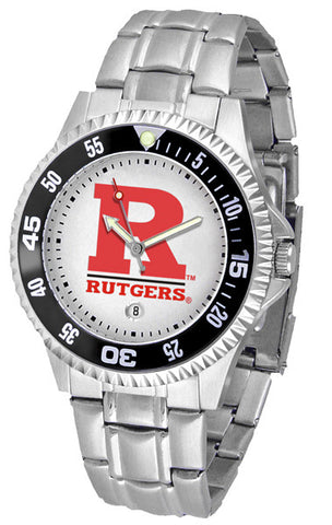 Mens Rutgers Scarlet Knights - Competitor Steel Watch