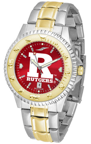 Mens Rutgers Scarlet Knights - Competitor Two Tone AnoChrome Watch