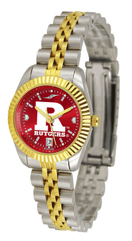 Ladies Rutgers Scarlet Knights - Executive AnoChrome Watch