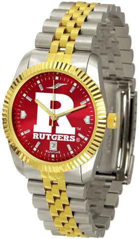 Mens Rutgers Scarlet Knights - Executive AnoChrome Watch