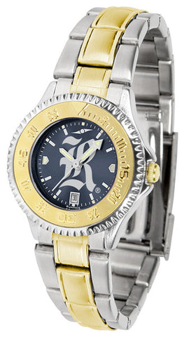 Ladies Rice University Owls - Competitor Two Tone AnoChrome Watch
