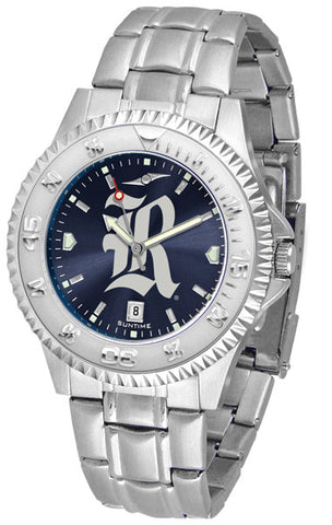 Mens Rice University Owls - Competitor Steel AnoChrome Watch
