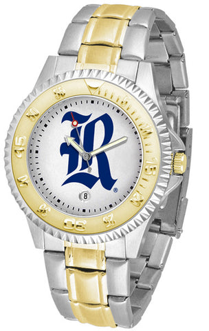 Mens Rice University Owls - Competitor Two Tone Watch