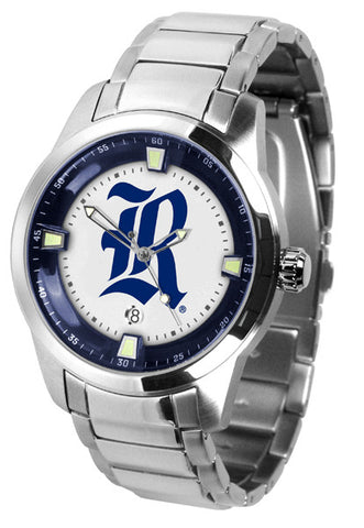 Mens Rice University Owls - Titan Steel Watch