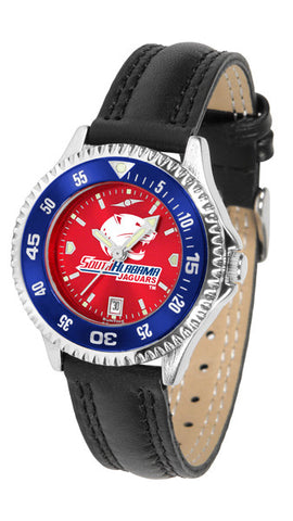 Ladies South Alabama Jaguars - Competitor AnoChrome Watch - Color Bezel