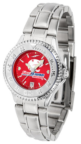 Ladies South Alabama Jaguars - Competitor Steel AnoChrome Watch
