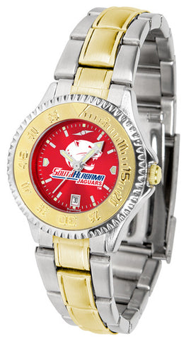 Ladies South Alabama Jaguars - Competitor Two Tone AnoChrome Watch