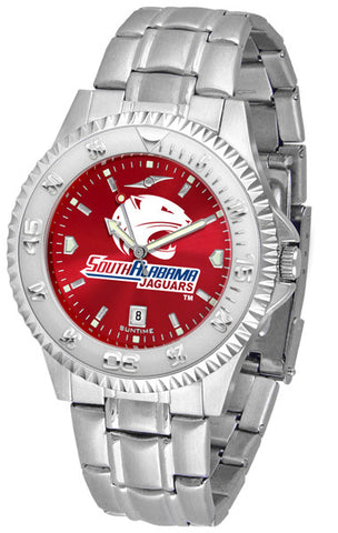 Mens South Alabama Jaguars - Competitor Steel AnoChrome Watch