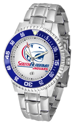 Mens South Alabama Jaguars - Competitor Steel Watch