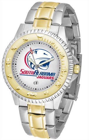 Mens South Alabama Jaguars - Competitor Two Tone Watch