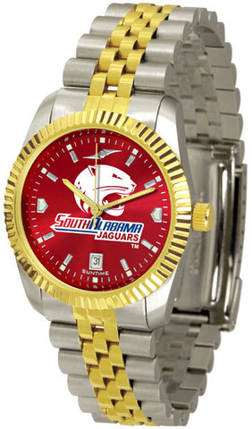 Mens South Alabama Jaguars - Executive AnoChrome Watch