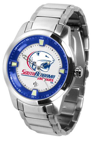 Mens South Alabama Jaguars - Titan Steel Watch