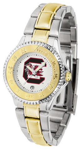 South Carolina Gamecocks Ladies Competitor Two-Tone Watch