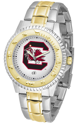 South Carolina Gamecocks Men's Competitor Two-Tone Watch