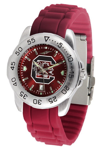 South Carolina Gamecocks Sport AnoChrome Watch With Color Band