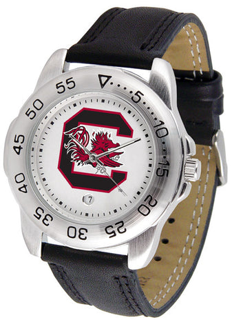 South Carolina Gamecocks Men Sport Watch With Leather Band