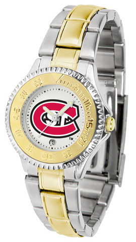 Ladies Saint Cloud State Huskies - Competitor Two Tone Watch