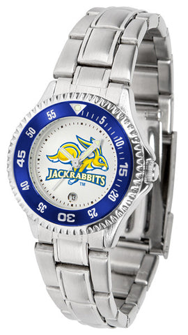 Ladies South Dakota State Jackrabbits - Competitor Steel Watch