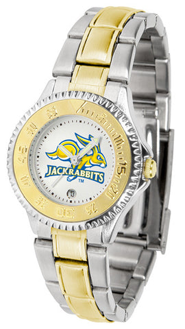 Ladies South Dakota State Jackrabbits - Competitor Two Tone Watch