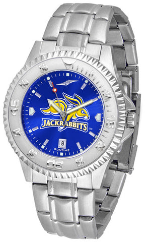 Mens South Dakota State Jackrabbits - Competitor Steel AnoChrome Watch