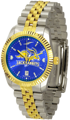 Mens South Dakota State Jackrabbits - Executive AnoChrome Watch
