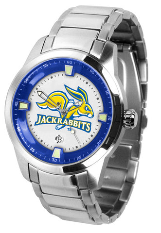 Mens South Dakota State Jackrabbits - Titan Steel Watch