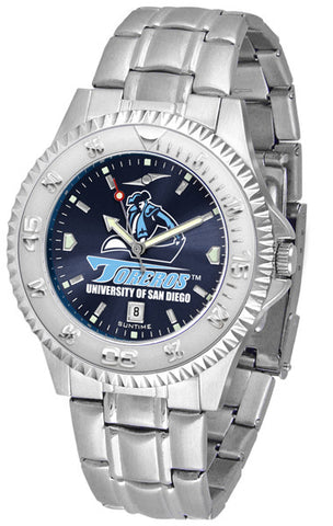 Mens San Diego Toreros - Competitor Steel AnoChrome Watch