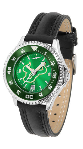 Ladies South Florida Bulls - Competitor AnoChrome Watch - Color Bezel
