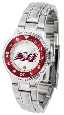 Southern Illinois University Competitor Steel Ladies Watch