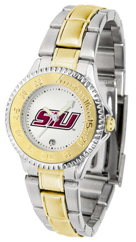 Southern Illinois University Ladies Competitor Two-Tone Watch