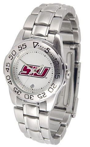 Southern Illinois University Ladies Sport Steel Watch