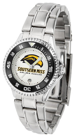 Ladies Southern Mississippi Eagles - Competitor Steel Watch