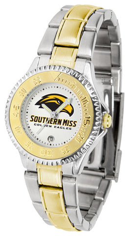 Ladies Southern Mississippi Eagles - Competitor Two Tone Watch
