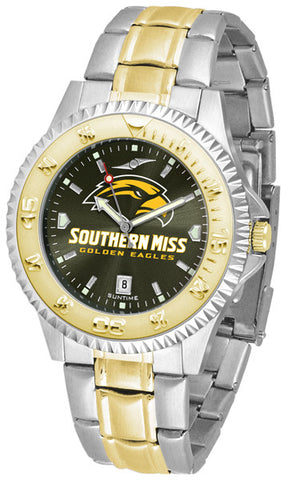 Mens Southern Mississippi Eagles - Competitor Two Tone AnoChrome Watch