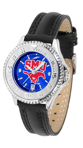 Ladies Southern Methodist University Mustangs - Competitor AnoChrome Watch