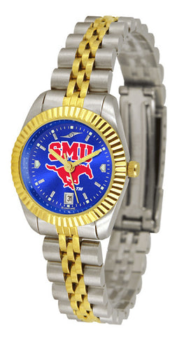 Ladies Southern Methodist University Mustangs - Executive AnoChrome Watch