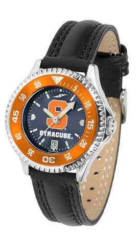 Ladies Syracuse Orange - Competitor AnoChrome Watch - Color Bezel