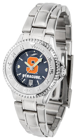 Ladies Syracuse Orange - Competitor Steel AnoChrome Watch