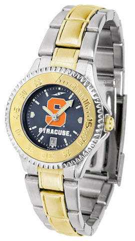 Ladies Syracuse Orange - Competitor Two Tone AnoChrome Watch